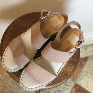 Dolce Vita Size 8 Blush Pink Wedges Shoes